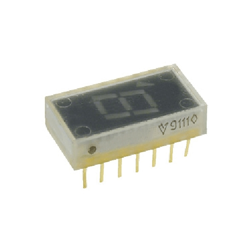 Индикатор семисегментный АЛС324Б1