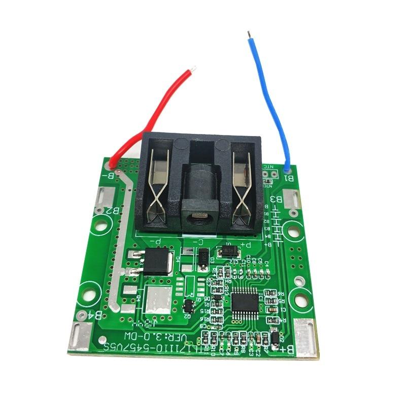 Контроллер заряда-разряда BMS 5S 20А для литиевых батарей