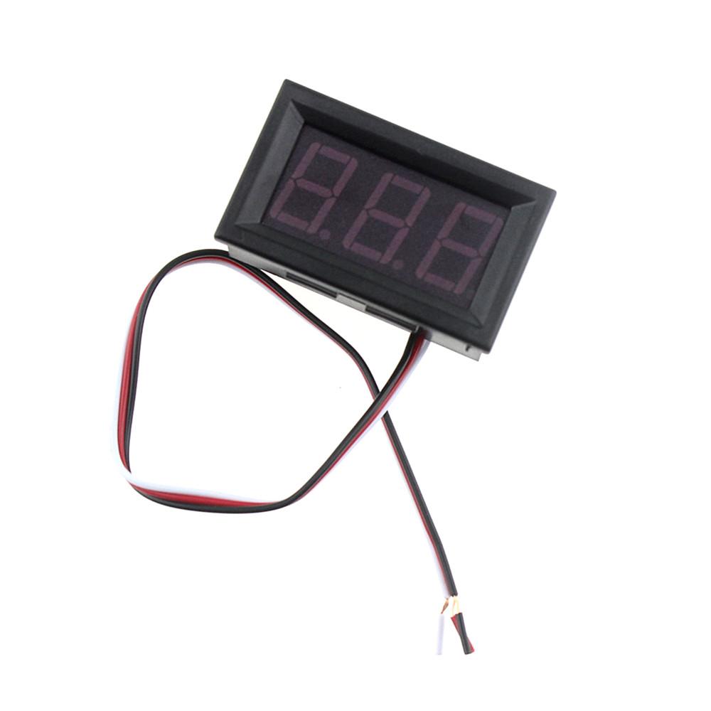 Цифровой вольтметр 30В (встраиваемый)