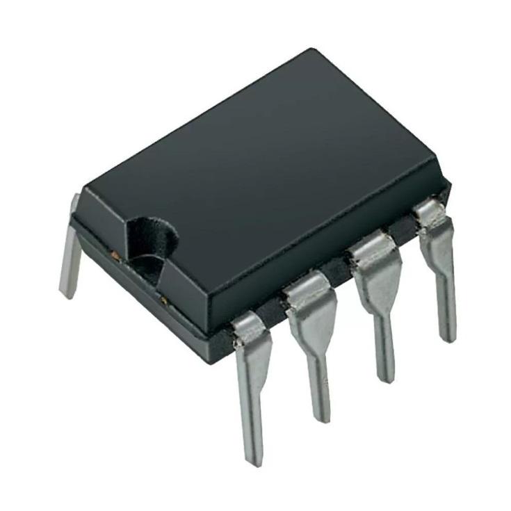 Микросхема ST24C08, EEPROM 8Kbit I2C DIP-8 (ST24W08)