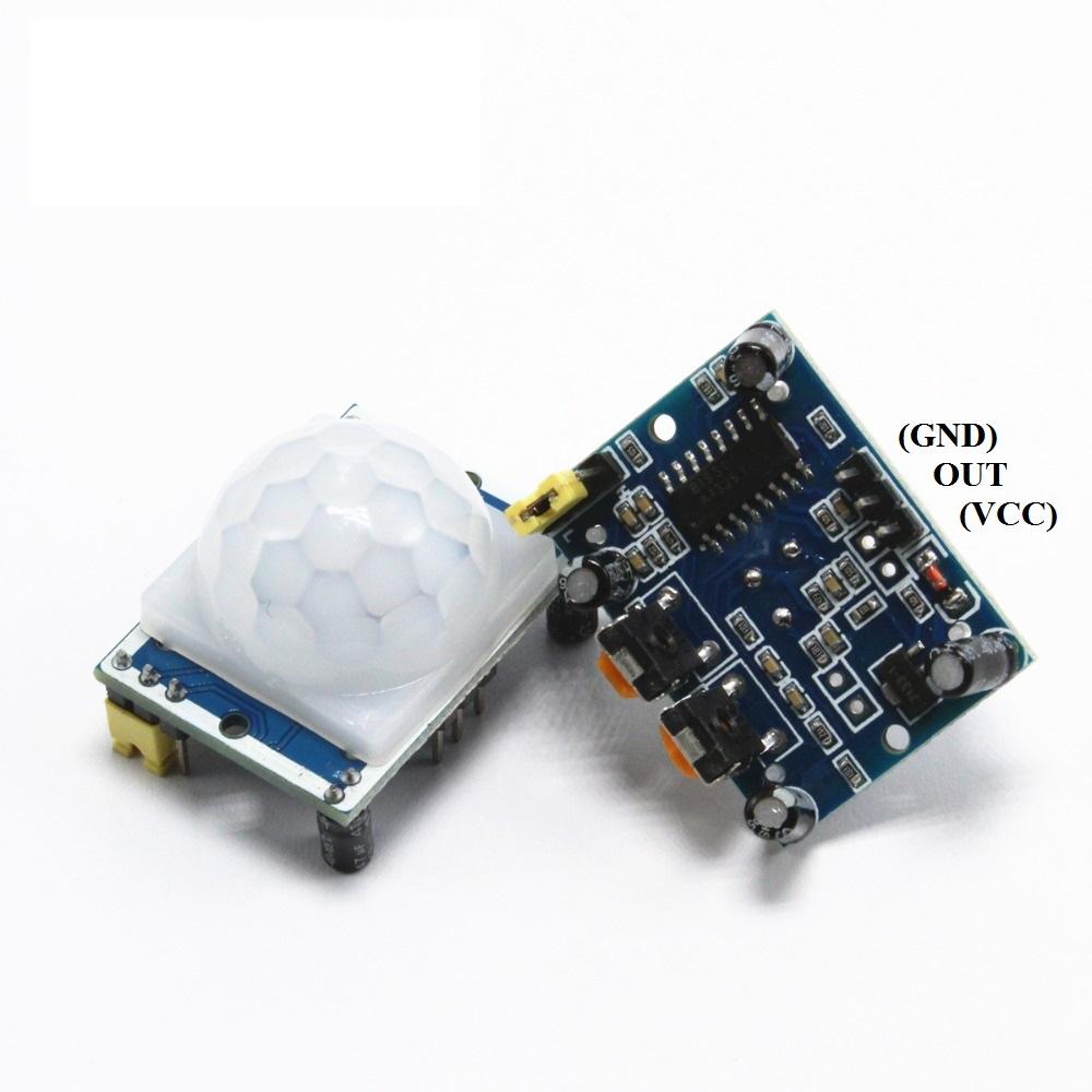 Модуль HC-SR501 датчик движения пироэлектрический