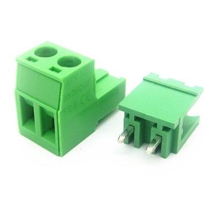 Терминальный блок 2EDGK 2pin 5 мм прямой (10А)