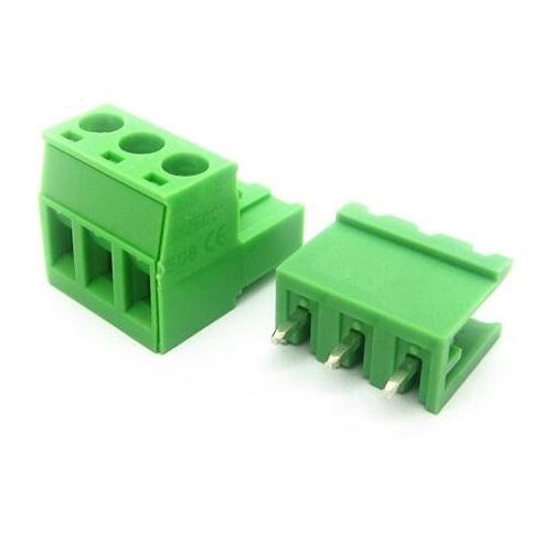 Терминальный блок 2EDGK 3pin 5 мм прямой (10А)