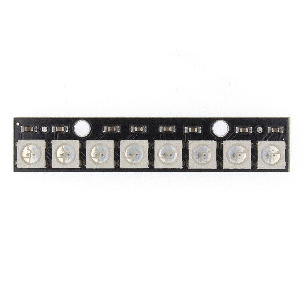 Светодиодная линейка W2812 5050 RGB 8 канальная