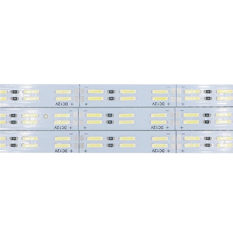 Светодиодная линейка 12V 10W 50см 60 LED8520 на аллюминевой плате
