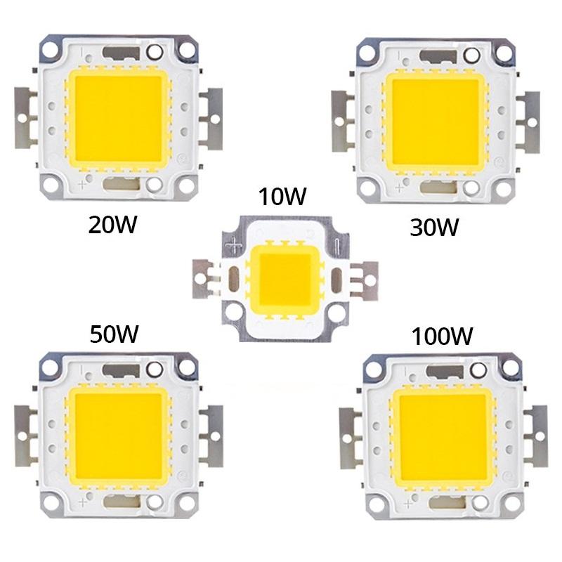 Светодиод 50W 30-36V белый холодный 900-1500mA 6000-6500К, LED