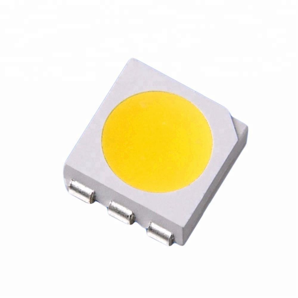Светодиод SMD 3-3.4V 20-60mA 5050 10-12LM белый, LED