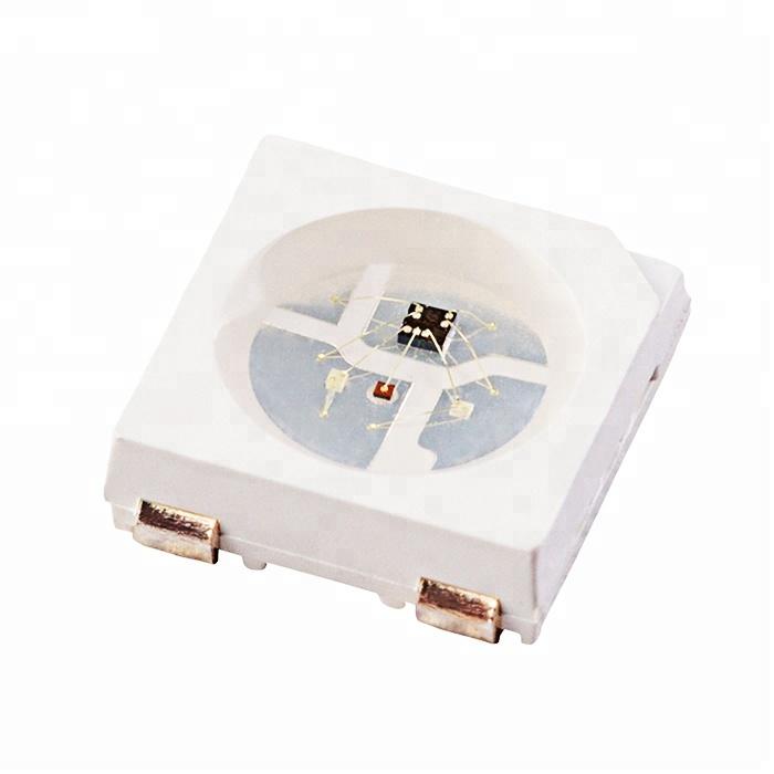 Светодиод SMD 3.5-5.3V 20-60mA 5050 10-12LM WS2812 RGB, LED