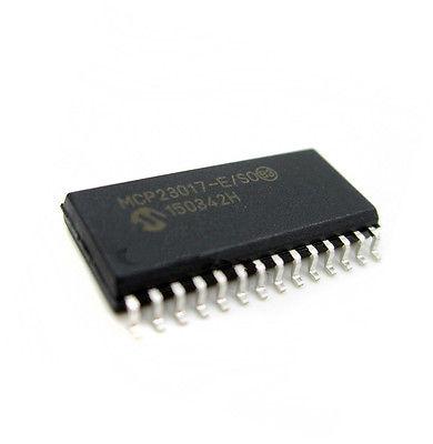 Расширитель портов MCP23017-E/SO 28SOP I2C I/O 16Bit