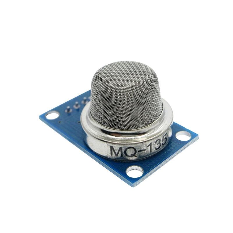 Модуль MQ-135 датчик газа чувствителен к бензолу, спирту, дыму