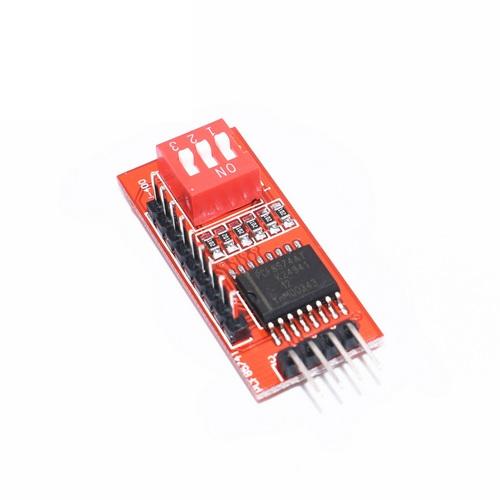 Модуль расширитель портов PCF8574P DIP-16 I2C I/O 8-бит DIP
