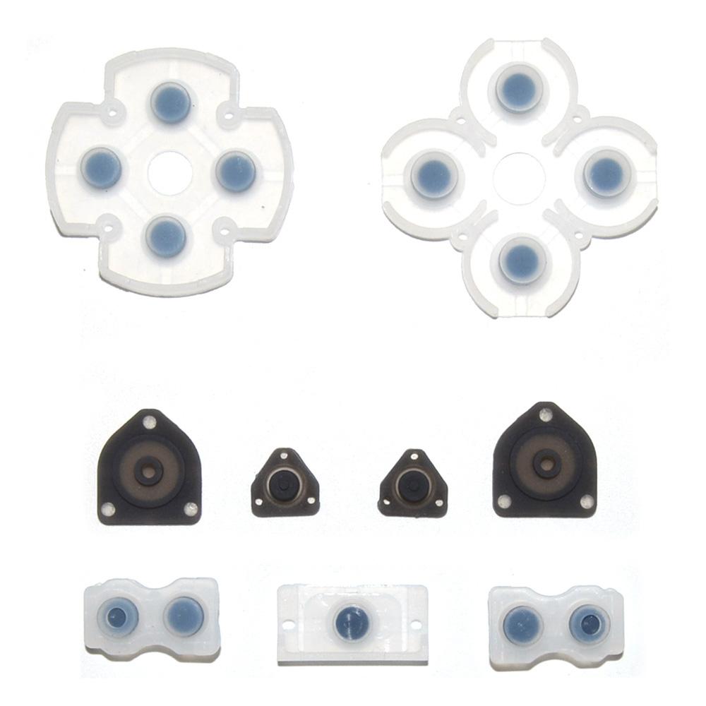 Ремкомплект из мягкой силиконовой резины для джойстика PS4(JDS-001, JDM-001, JDS-011, JDM-011)