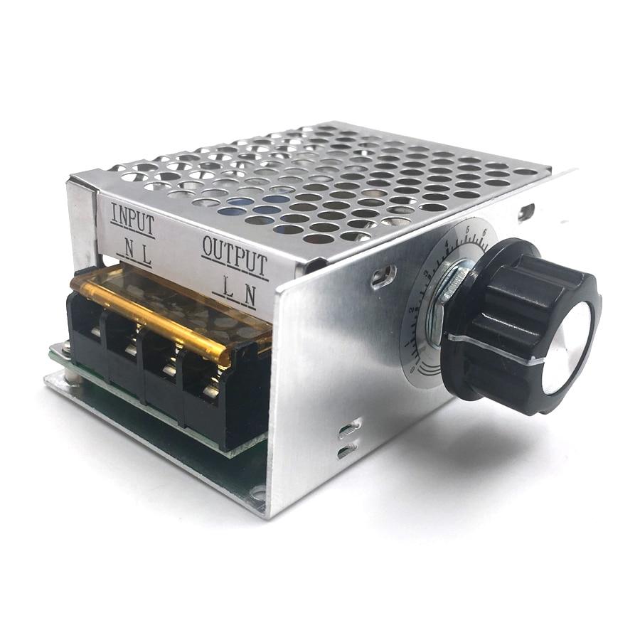 Регулятор мощности 4000 Вт (металлический корпус)
