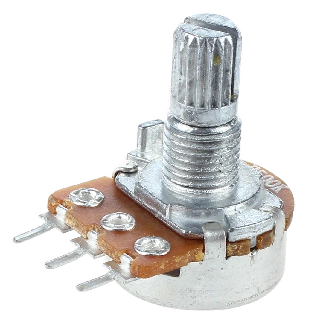 Переменный резистор 500K (504) 15мм B500K WH148