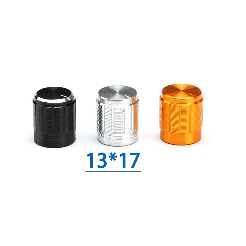 Ручка для переменного резистора 13*17 черная