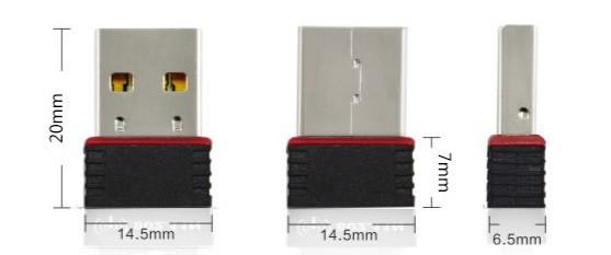 Сетевой адаптер USB Ralink RT5370 150 Мбит Мини WiFi