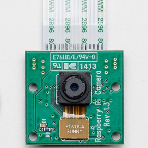 Модульная камера Raspberry Pi Camera Board  Rev 1.3, 5Мп