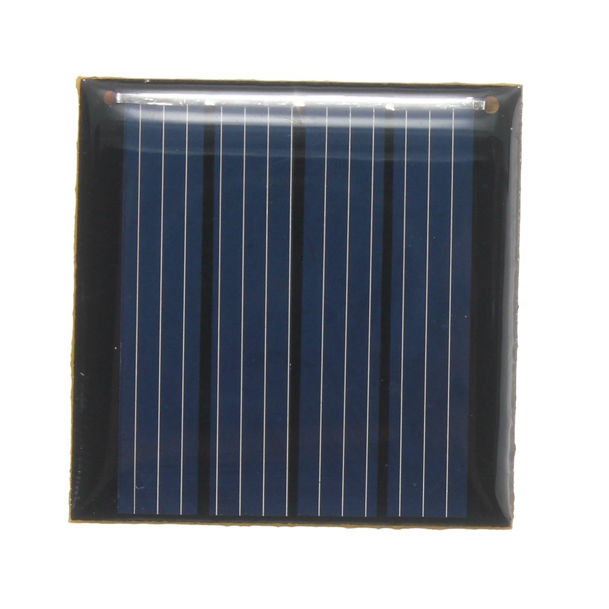 Солнечная панель 2В 0.14 Вт 70 мАч 40x40x3