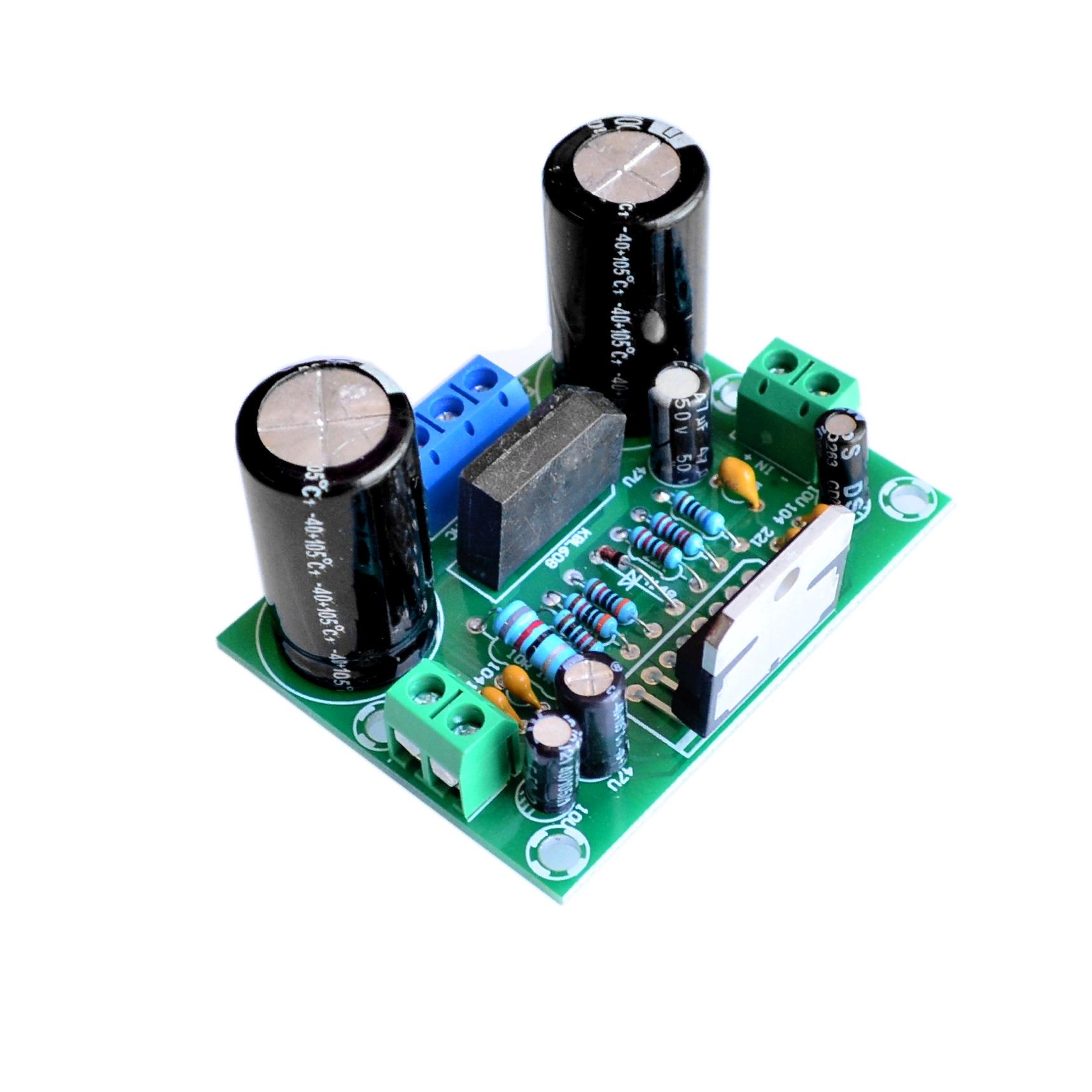 Модуль усилителя низкой частоты TDA7293 120V-100W DMOS с MUTE/ST-BY [MULTIWATT-15V]