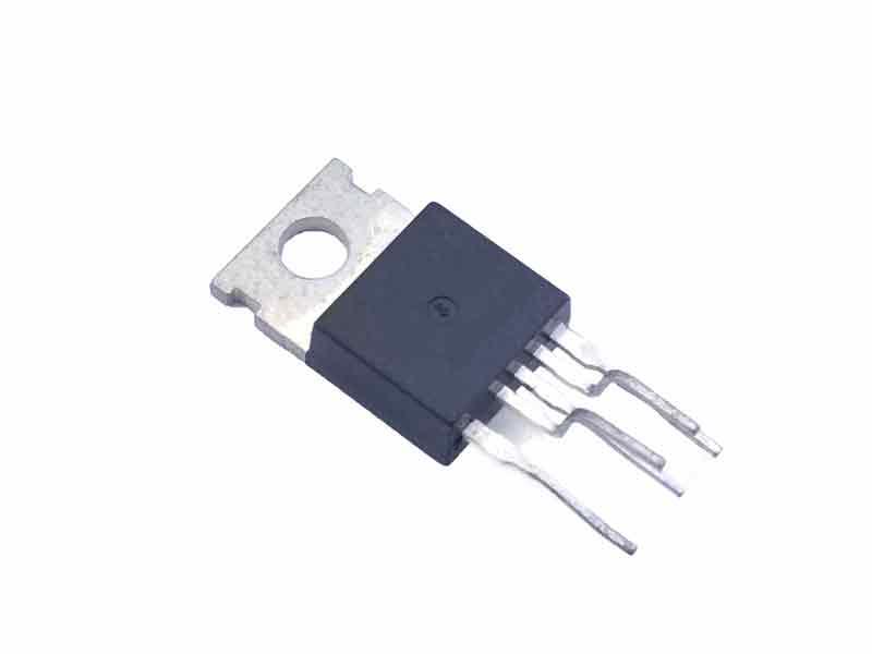 Одноканальный HI-FI усилитель мощности TDA2030A класса АВ, 18Вт, ± 22В, 3.5А, 20…80000Гц, 4 Ом, [TO-220-5]
