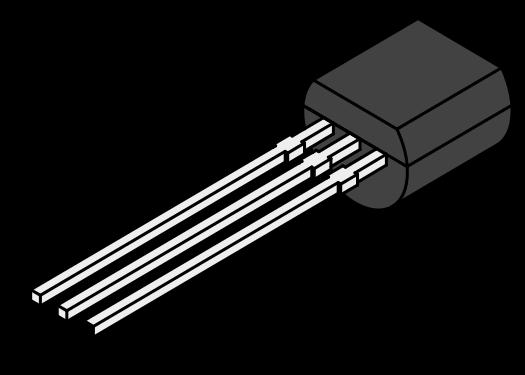 Источник опорного напряжения TL431, 2.495В до 36В, 2%, 92млн-1/°C, TO-92-3, шунт - регулируемый