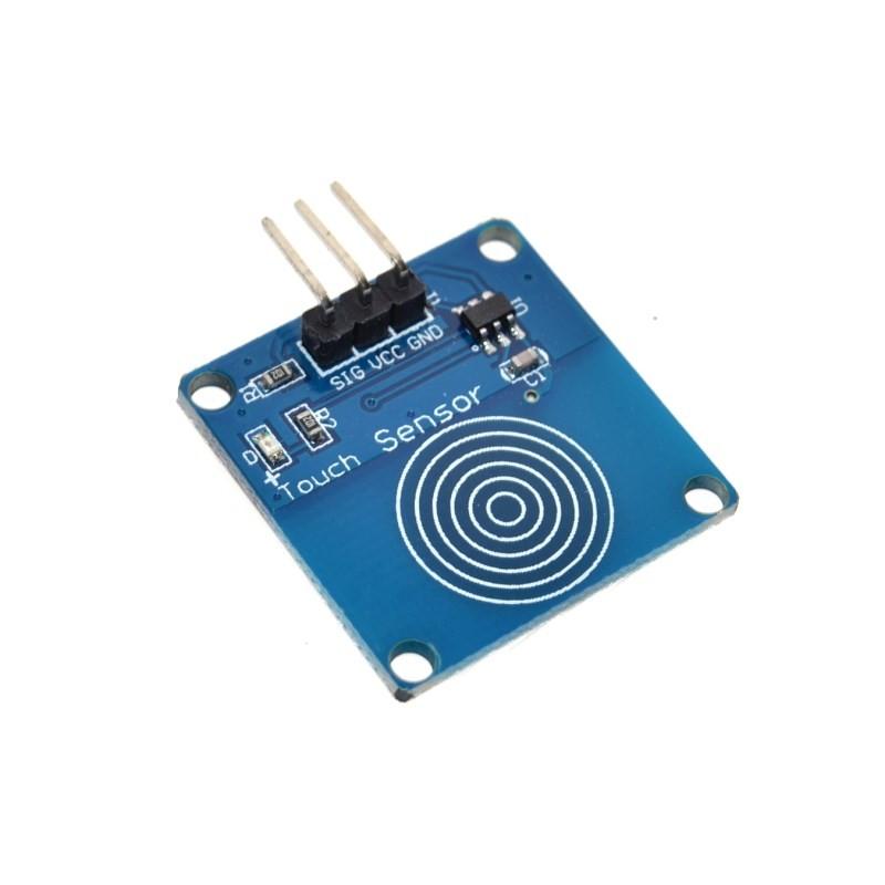 Модуль сенсорной клавиатуры 1 кнопка TTP223