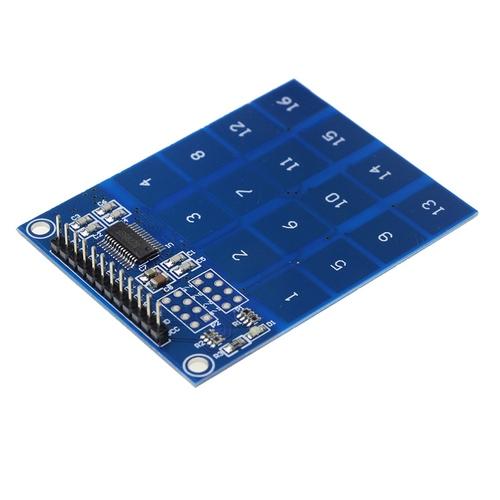 Модуль сенсорной клавиатуры 16 кнопок TTP229