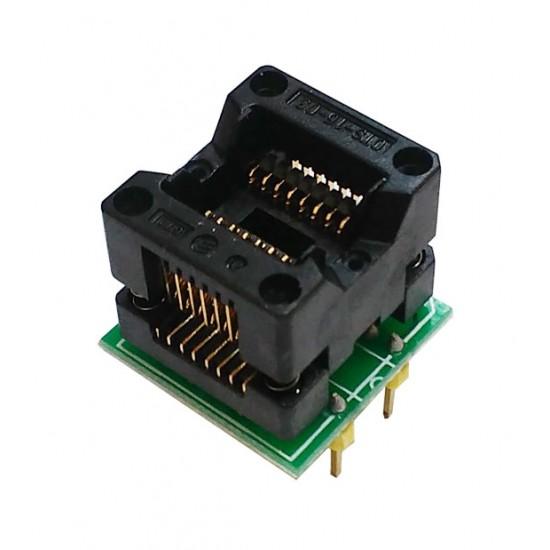 Адаптер для программатора SOP16 to DIP16 1.27mm 150mil