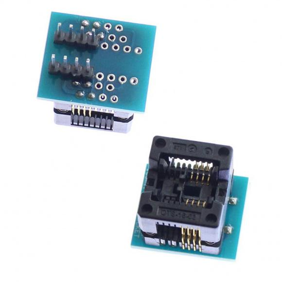 Адаптер для программатора SOP8 to DIP8 1.27mm 200mil