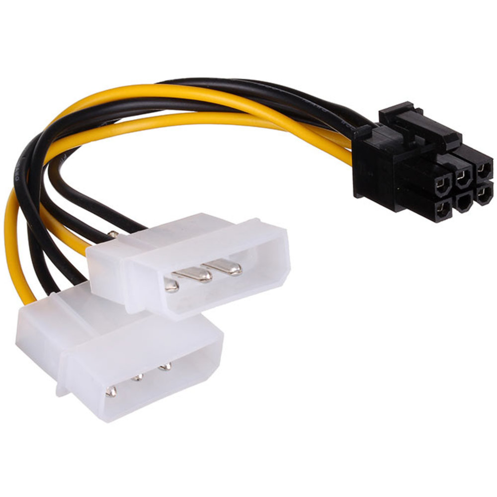 Переходник FinePower 6-pin - Molex x2