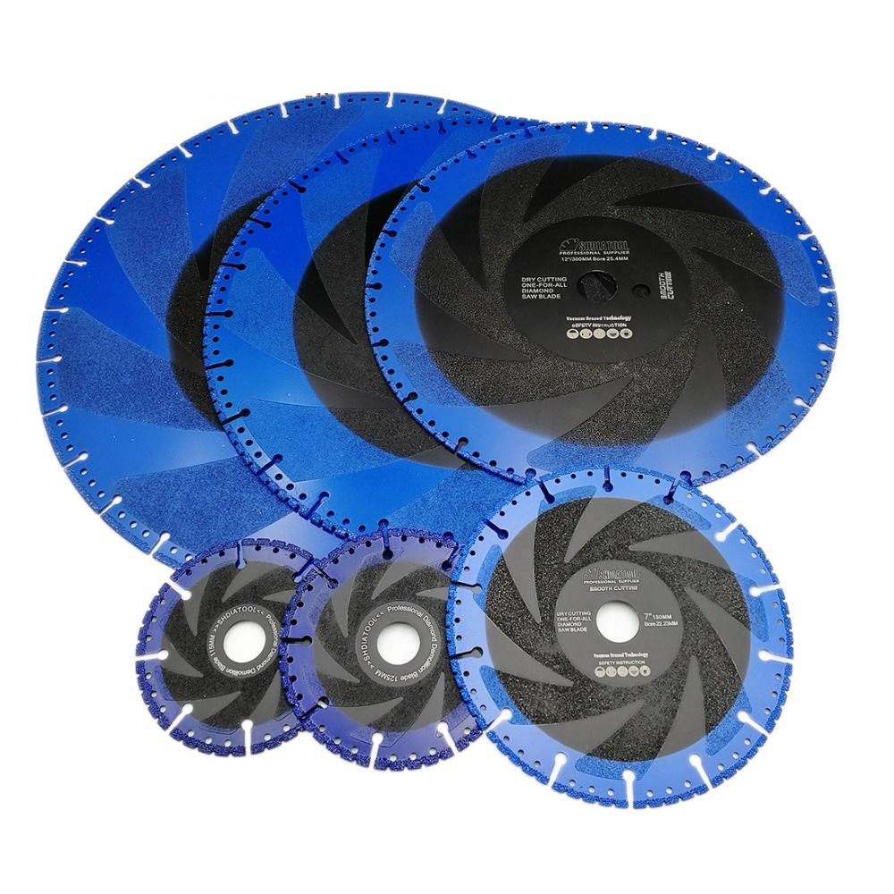 Алмазный диск по металлу 125мм с покрытием для шлифовки (5'/125mm 2.3mm-2.4mm 22.23mm (7/8'))