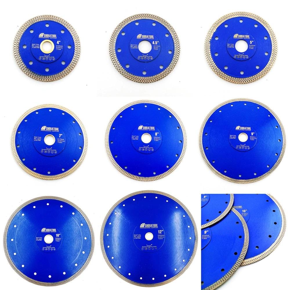 Алмазный диск по камню 125мм синий (5'/125mm 10*1.2mm 22.23mm (7/8'))