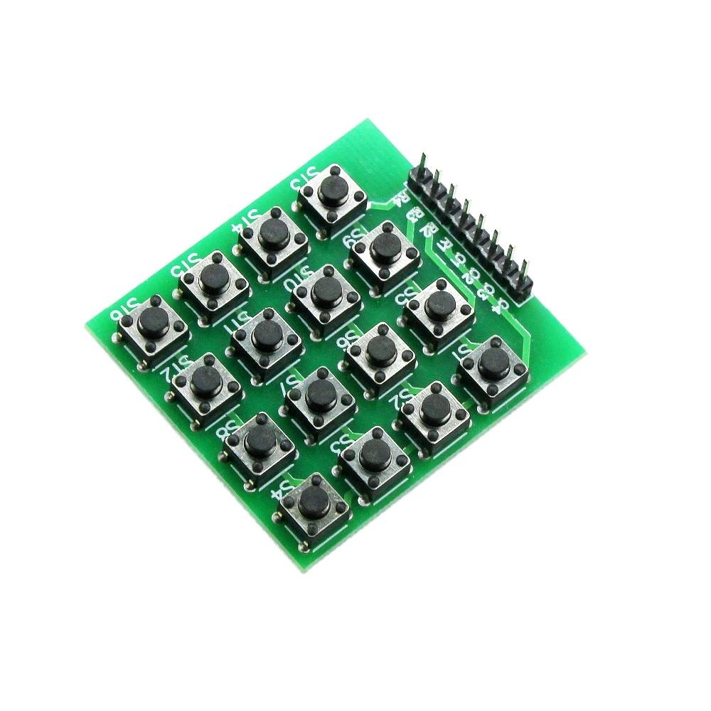 Матричная клавиатура 4х4 кнопочная (без обозночений)