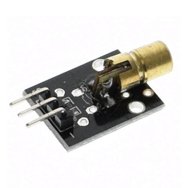 Модуль KY-008 лазер 650нм, 5мВт (красный)