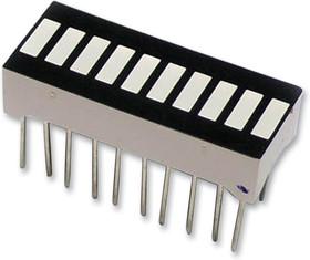 Линейный светодиодный индикатор (гистограмма) 10 сегментов красных