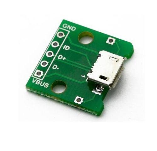 Адаптер microUSB в DIP- 5pin