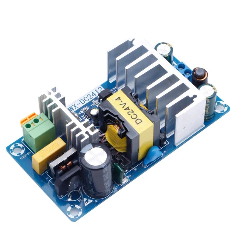 Модуль блок питания 220В в 24В 4А-6А 107x57x30мм