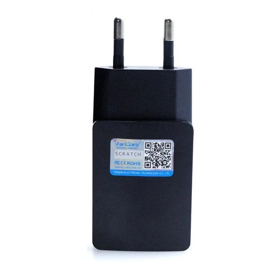 Блок питания импульсный AC100V-240V DC5V 2А 8*3.5*2.5мм в розетку EU