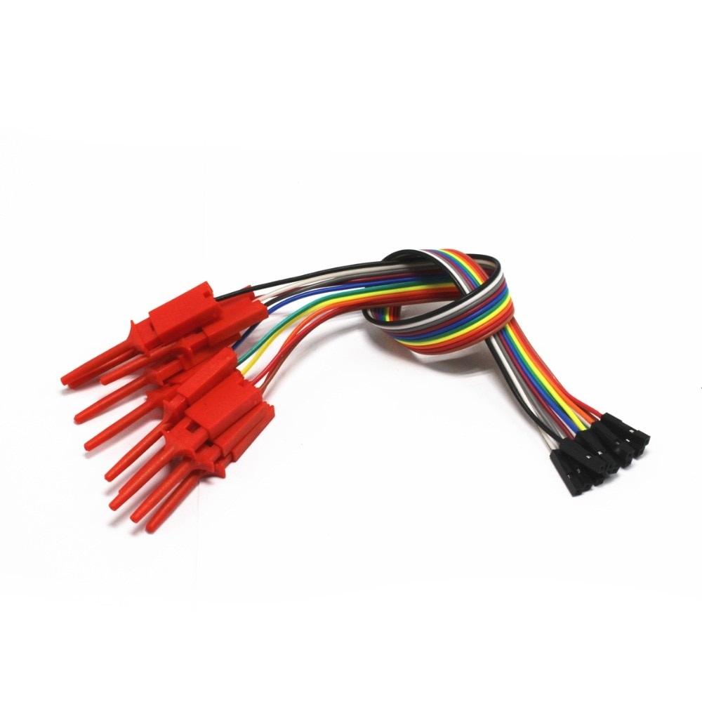 Щуп цанговый для захвата выдвижной + провод под PINx1