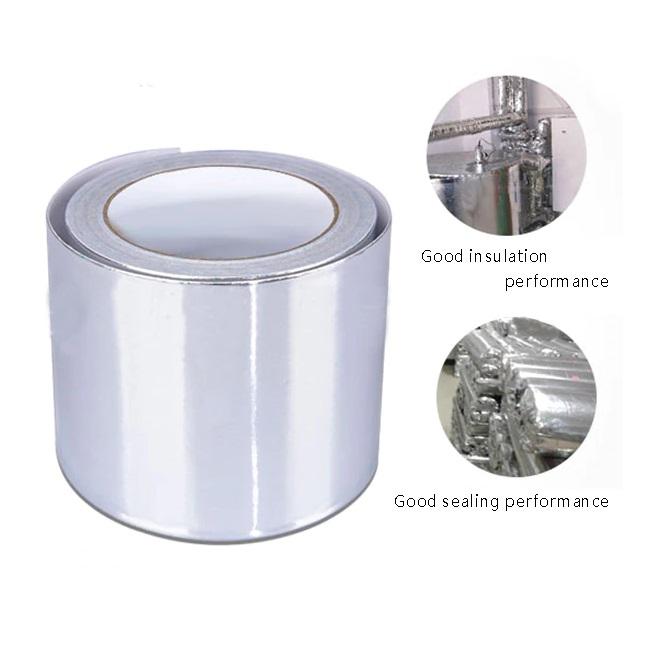 Скотч из алюминиевая фольги 50мм ~17м (термостойкий)