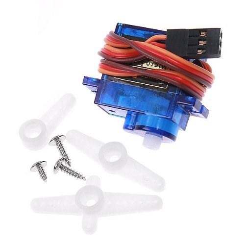 Сервомотор аналоговый SG90 1.8кг.см 180°