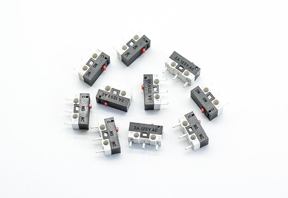 Микропереключатель 1А 125VAC, 13*6*6