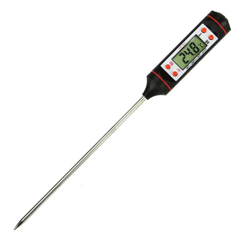 Цифровой измеритель температуры от -50 до 300C для мяса
